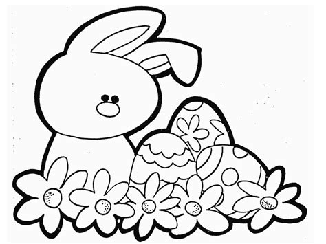 Easter Coloring Pictures Free Printable L