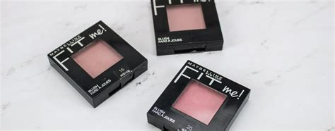 Maybelline Fit Me Blush review swatches of maybelline fit me blushes hub