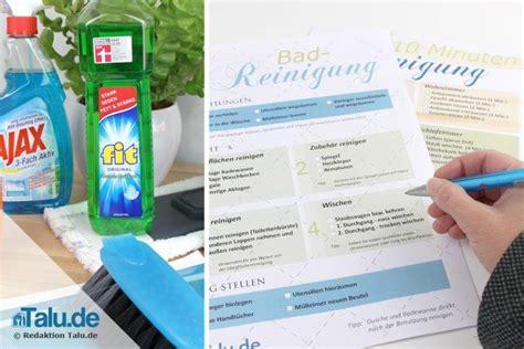 wohnung putzen checkliste haushaltsplan zum putzen kostenlose vorlagen checkliste
