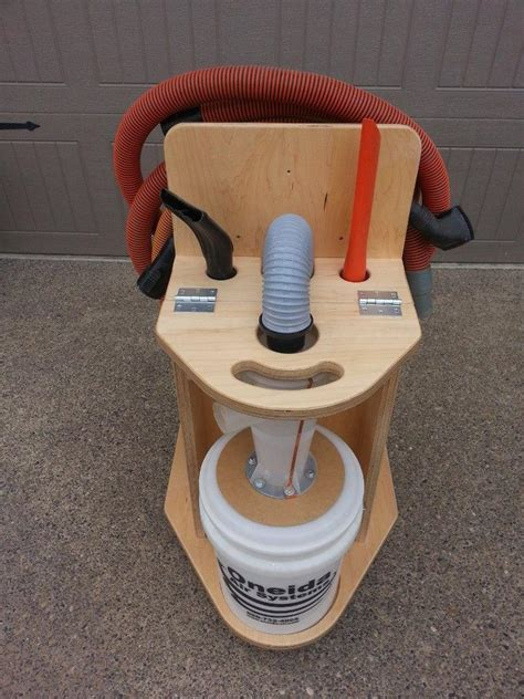 Cnc Cabinets How To Convert A Shop Vac Into A Cyclone Dust Collector