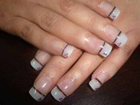 imagenes de uñas acrilicas con french cuidados u 241 as decoradas