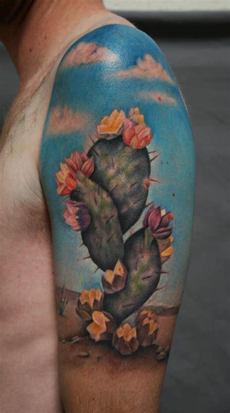 saguaro cactus tattoo 33 flower cactus