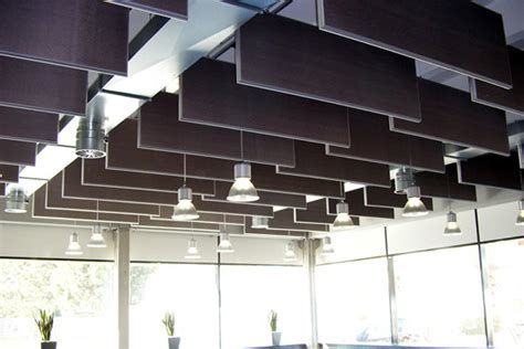 Ceiling Baffles by Sound Absorption Hanging Acoustic Ceiling Baffles Panels
