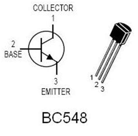 bc548 transistor pin description bc548 electronic components