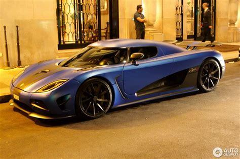 Midnight In Paris With Koenigsegg Agera R