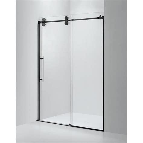 Home Depot Kitchen Design Services by Dreamwerks 60 In X 79 In Frameless Sliding Shower Door