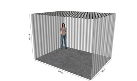 What Does 100 Square Feet Look Like | box clever storage cockermouth carlisle self storage room size estimator
