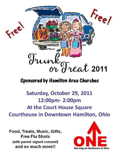trunk or treat flyer template 404 not found