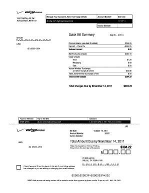 Fake Utility Bill Template Printables And Menu Blank Utility Bill Template