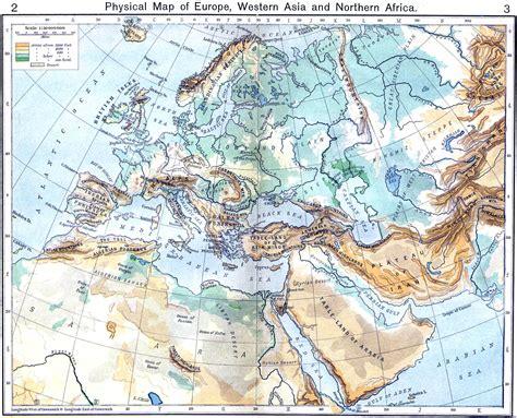 europa asia y africa mapa mapa f 237 sico de europa asia occidental y 193 frica norte