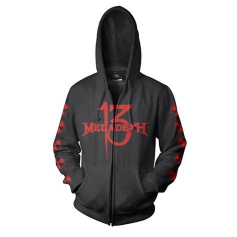 Hoodie Megadeth Xxxv Cloth 1 logos zip hoodie and megadeth on
