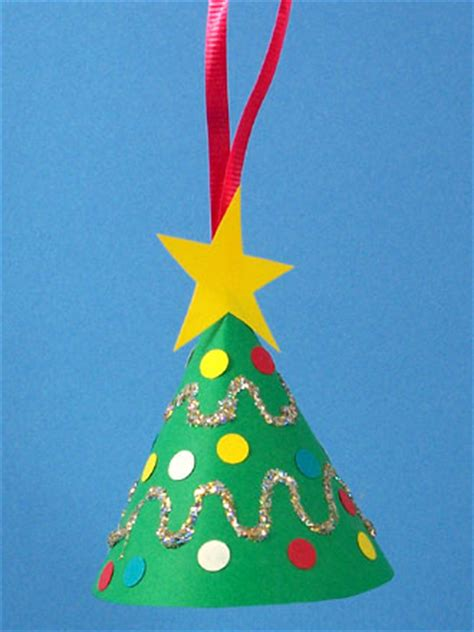 how to make a miniature christmas tree ornament