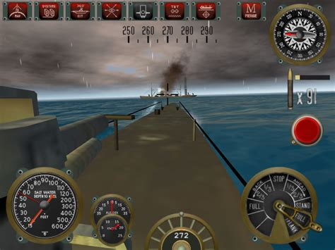 u boat simulator ipad silent depth submarine simulation test jeu ios iphone
