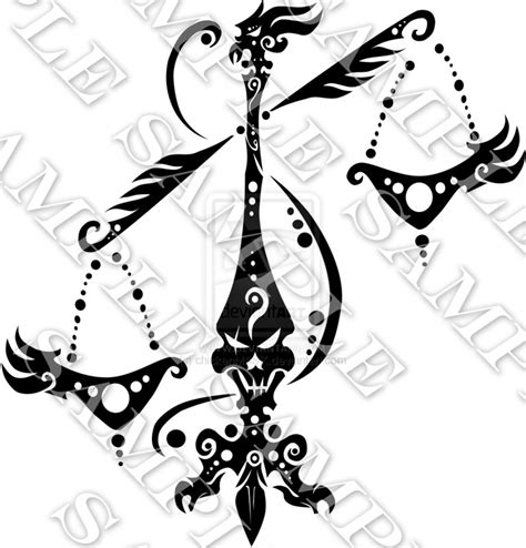 tribal libra scales tattoo black n white sleeve tattoos libra tattoos