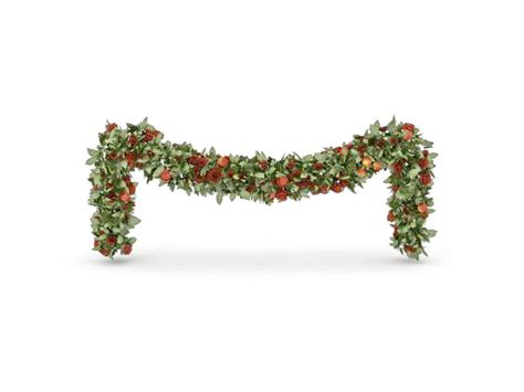 christmas plant chain decoration  model ds max files