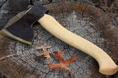 Handmade Axe - s djarv swedish handmade large wood axe bushcraft canada