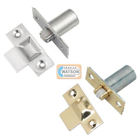 Brass Or Nickel Adjustable Roller Catch Mortice Door Closet Door Roller Catch