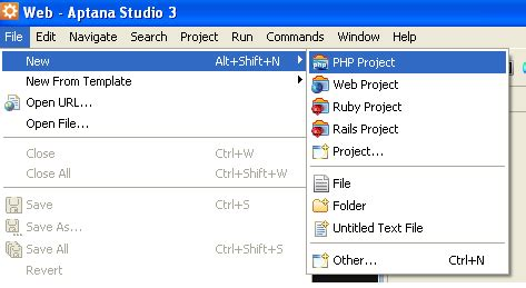 online tutorial project in php how to debug php in aptana studio