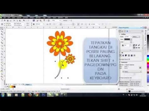 tutorial bunga coreldraw cara buat bunga dengan coreldraw youtube