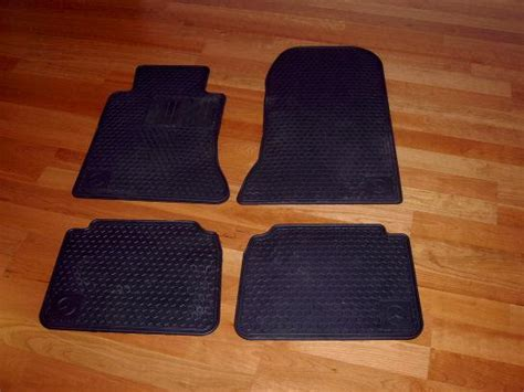 Mercedes Winter Floor Mats w124 e class snow tires and winter mats for sale
