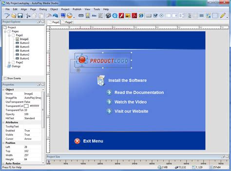 software creator visually create windows apps autoplay media studio