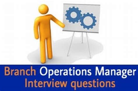 branch operations manager questions and answers