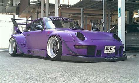 porsche rwb purple purple porsche matte purple rwb porsche project car