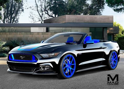 Front Door Blue by It S Not Sema Without The Ford Mustang Eight Customized