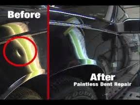 how to repair small dents ford mov
