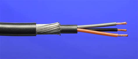 mm   core swa steel armoured cable