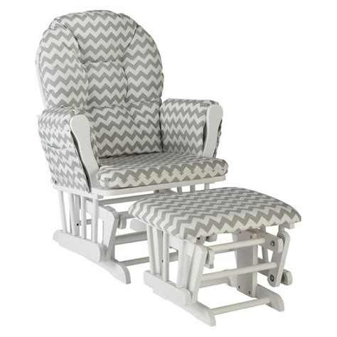 grey and white glider and ottoman storkcraft hoop white glider and ottoman crafts gray