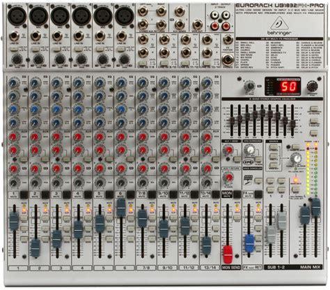 Mixer Behringer Ub1832fx Pro behringer eurorack ub1832fx pro sweetwater