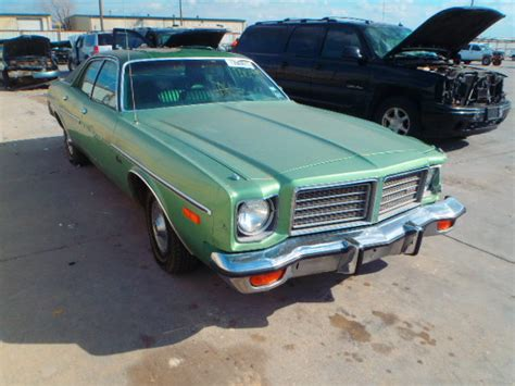 wh41g5a219360 bidding ended on 1975 green dodge coronet