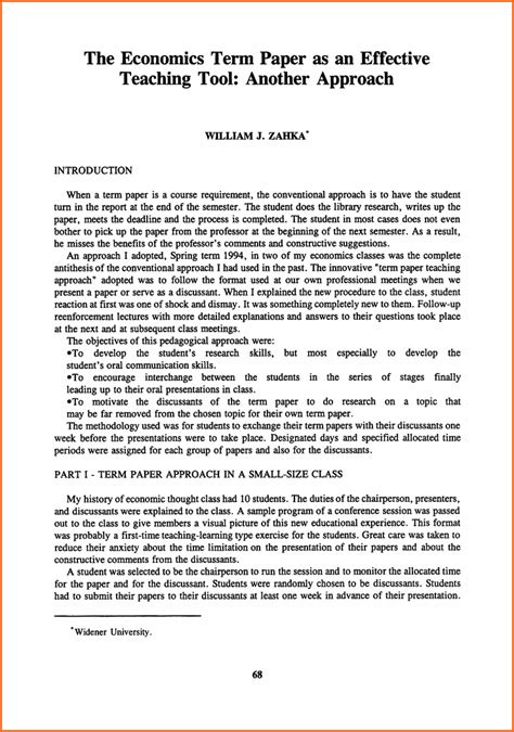 A Term Paper - 11 what is a term paper budget template letter