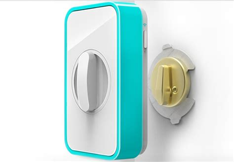 Iphone Front Door Lock New Lockitron The Keyless Lock Will Message You When