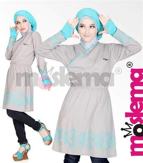 Kaos Larel Kaos Simple Wanita Kaos Trendy Kaos Polos Casual Sh daftar model busana muslim remaja wanita trendy indonesia