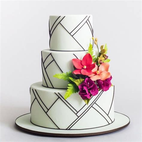 moderne kuchen 17 best images about modern wedding cakes toppers on