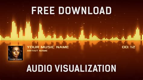 Free Audio Visualization After Effects Template Free Download Youtube After Effects Visualizer Template