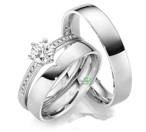 Cincin Tunangan Permata Silver Perak 925 Kawin Lamaran Berlian Nikah model cincin kawin vasya zlata silver