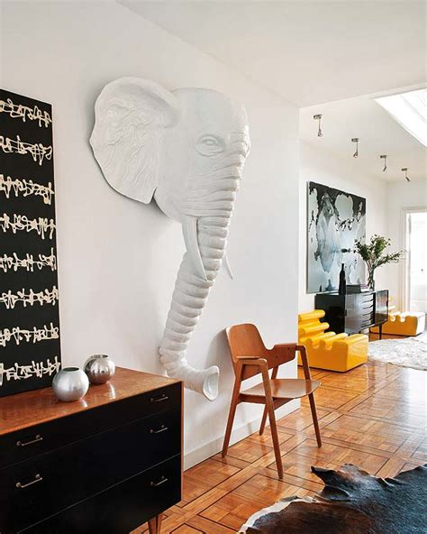 elephant living room decor unique interior design with a of an elephant at the entrance