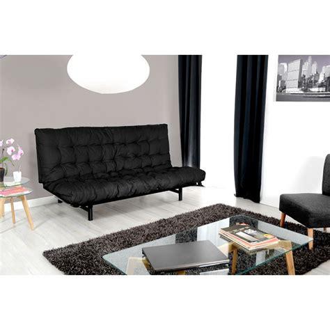 matelas futon pour clic clac matelas futon pour clic clac quot tams quot 135x190cm noir