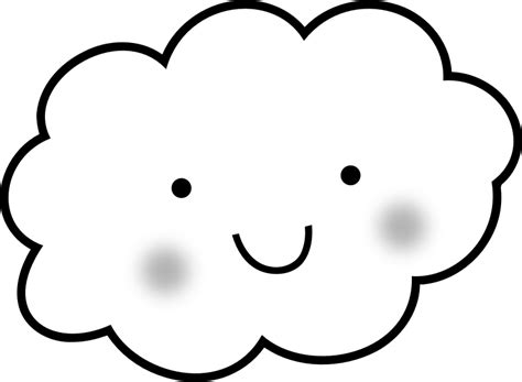 cute cloud coloring book by uroesch cute cloud for