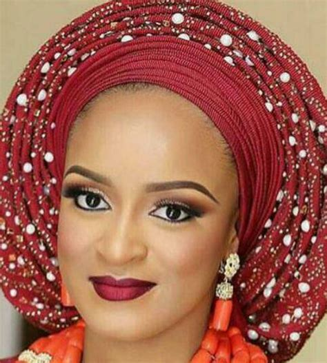 how to tie bridal head gear with aso oke 2014 youtube pre tied aso oke fabric gele head tie with stones and pearls