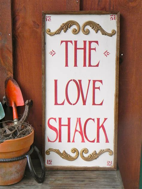 Handmade Wood Signs - the shack sign handmade wood signs indoor and outdoor