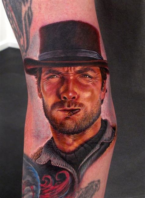 clint eastwood tattoo the map