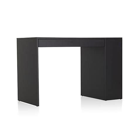 Convertible Compact Desk by Black Convertible Compact Desk