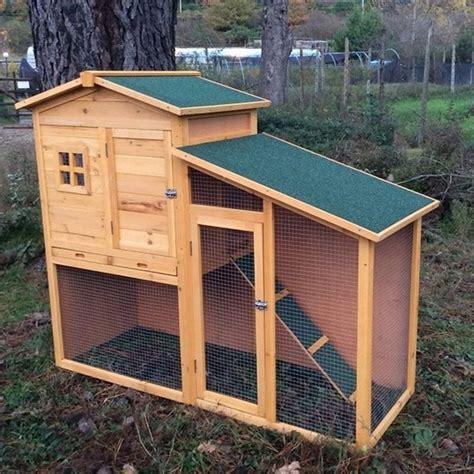 casa per conigli conigliera da esterno in legno con recinto e casetta per