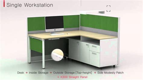 koas smart office furniture  system youtube