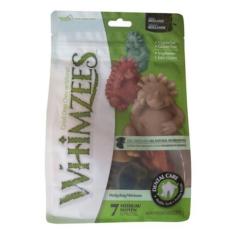 whimzees treats review whimzees hedgehog dental treats medium naturalpetwarehouse