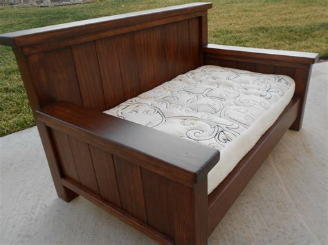 bed daybed frame size daybed from plan new diy furniture